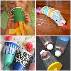 Brinquedos com Copos Descartáveis passo a passo Kids Crafts, Toddler Crafts, Projects For Kids, Games For Kids, Diy For Kids, Crafty Kids, Animal Crafts, Best Part Of Me, Preschool Activities