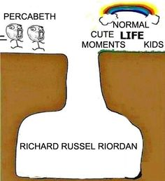 Rick Riordan killing all of the Percy Jackson and the Olympians and Heroes of Olympus fans!!
