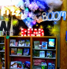FIZZ BOOM READ Summer Reading 2014 Library Display