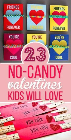 23 No-Candy Valentines Kids Will Love Even More Than Sugar Valentine Ideas, Valentines Day Party, Valentine Day Cards, Valentine Gifts For Kids, Valentines Day Activities, Valentine Day Love, Valentine Decorations, Funny Valentine, Valentines Ideas For Preschoolers