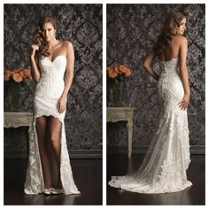 Wedding Dress high low