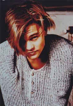 Leonardo DiCaprio: my 14 year old heart be still.