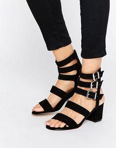 ASOS HENLEY Strappy Block Heels