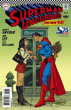 DC Comics Celebrates 75 Years of the Man of Steel with Superman Unchained Variant Covers Art by Jose Luis Garcia Lopez. Marvel Dc, Marvel Comics, Bd Comics, Superman Wonder Woman, Superman Man Of Steel, Comic Book Characters, Comic Book Heroes, Comic Books Art, Comic Art
