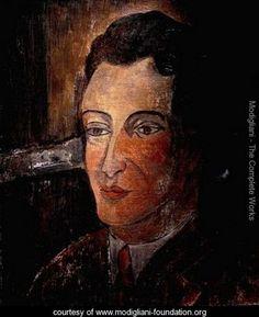 Portrait of Man - Amedeo Modigliani - www.modigliani-foundation.org