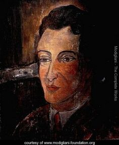 Portrait of Man - Amedeo Modigliani - www.modigliani-foundation.org