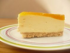 Bavarois mangue passion Agar, Number Cakes, Cake & Co, Yummy Food, Tasty, Eclairs, Sweet Recipes, Biscuits, Sweet Tooth