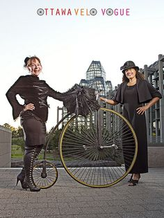 Harvest Noir Shoot for Ottawa Velo Vogue
