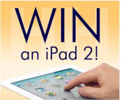 Enter to Win – iPad 2 with WiFi