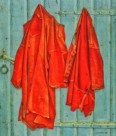 Orange coats - Jopie Huisman