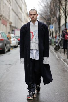 Streetfashion Paris Menswear FW2018, Day 04