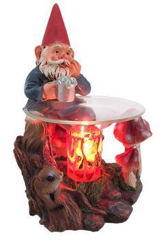 Garden Gnome Electric Oil Warmer