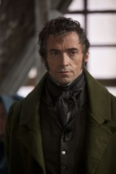 Hugh Jackman in Les Misérables as Jean Val Jean.  Coming in December!!!!!!