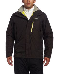 Columbia Men's Lhotse Mountain II Interchange Jacket, Buffalo, X-Large
