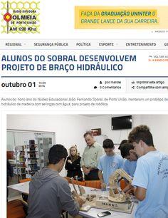 Jornal Sobral: 1ª Feira de Robótica na Rádio Colméia