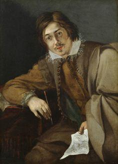 Cornelis Saftleven, Self-Portrait, c. 1629  Cornelis Saftleven (c. 1607, Gorinchem - 1 June 1681, Rotterdam) was a Dutch Golden Age painter.