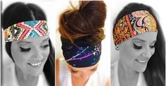 These fun headbands can be worn wide or folded! The nylon/spandex blend dries fast! Hippie Runner has hundreds of styles & slogans to choose from! www.hippierunner.com