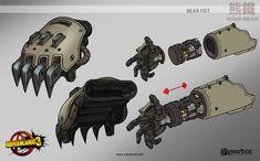 ArtStation - Borderlands 3 - Iron Bear Hardpoint Attachments, Max Davenport