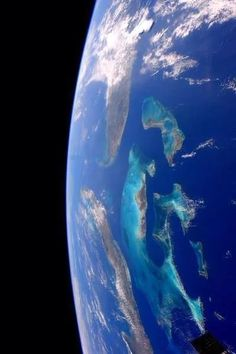 The Carribbean from the ISS Credit: NASA /Astronaut Terry W.Virts