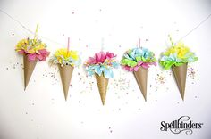 Pocketful of Posies Ice Cream Banner to inspire you to create outside of the box!