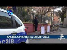 Angri. Salerno. Protesta davanti al comune per un alloggio