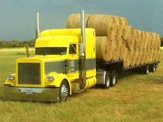 Peterbilt - love the tractor Train Truck, Road Train, Custom Big Rigs, Custom Trucks, Dump Trucks, Big Trucks, Peterbilt Trucks, Peterbilt 379, Heavy Construction Equipment