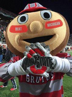 THE Ohio State University and Buckeye football! Ohio State Football, The Buckeye State, Ohio State University, Ohio State Buckeyes, College Football, Buckeye Nut, American Football, Football Humor, Oklahoma Sooners