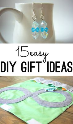 Easy DIY holiday gift ideas