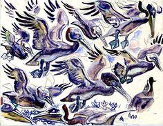 Walter Inglis Anderson A symphony of pelicans
