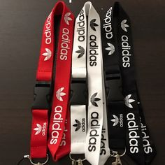 Adidas lanyard 3pc bundle If you would like to buy more, you will receive a bundle discount of 20% on your entire purchase. Adidas Accessories Key & Card Holders