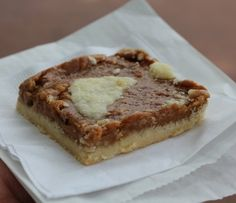 Chewy Caramel Shortbread Bars recipe served at Karamell Kuche at EPCOT in Disney World