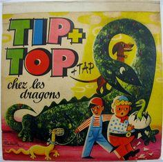 Kubasta Tip + Top + tap Chez les Dragons (Kubasta – Tip+Top+Tap – and the Dragons) Artia - 1964 Del-Duca-Paris - Printed in Czechoslovakia. 6 pop-up scenes in fine all original condition See Photo, Little Boys, Pop Up, The Book, Dragons, Scene, Paris, Printed, Children