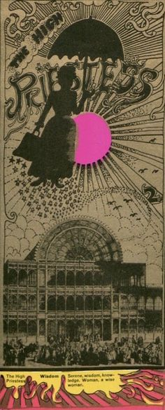 Martin Sharp's psychedelic tarot cards from 1967 - - If you love Tarot, visit me at www.WhiteRabbitTarot.com