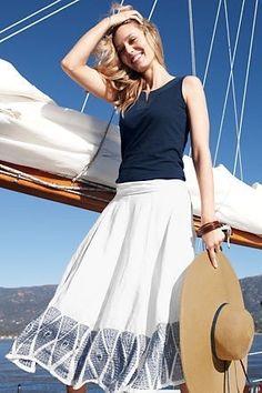 summer nautical look
