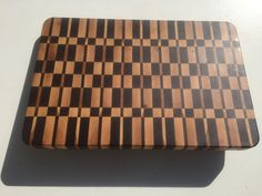 Hard wood end grain cutting board by Mertswoodshop on Etsy