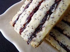 Poppy Seed Ribbon Cookies  (freezer)