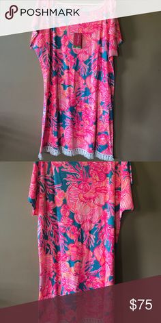 Lilly Pulitzer Tilla dress size L NEW WITH TAGS New with tags! Lilly Pulitzer Dresses