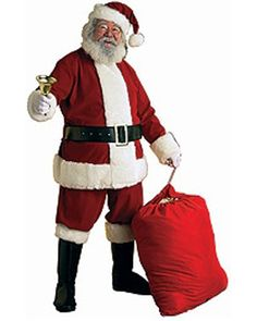 59f7835937 Adult XX Large Deluxe Velvet Santa Suit This is an outfit for big guys with  even
