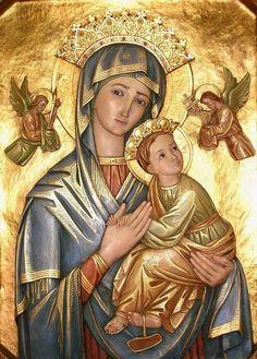 Image pieuse (La vierge à l'enfant)