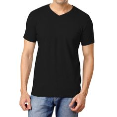 Softwear Mens Black Henley Full sleeve T-shirt - http ...