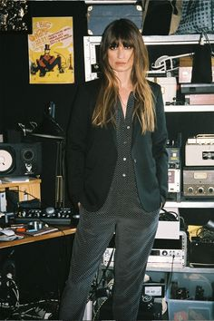 Caroline de Maigret stars in Equipment's fall 2015 lookbook