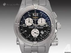 Breitling Emergency Mission Quartz Chronograph - A73321 - 45mm Stainless Steel - Box/Papers 100%