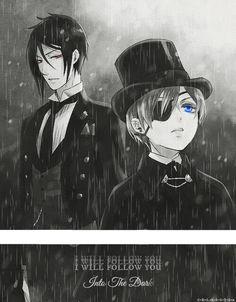 Sebastian e Ciel - Kuroshitsuji