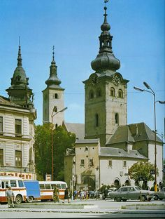 Banská Bystrica | Historical Photos - SkyscraperCity Heart Of Europe, Medieval Castle, Central Europe, Bratislava, Eastern Europe, Slovenia, Czech Republic, Homeland, Historical Photos