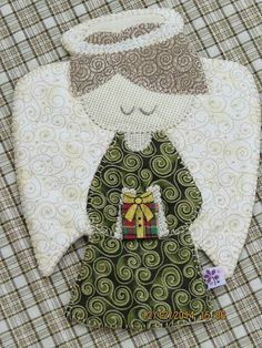 Anjo Felt Tree, Quilting Rulers, Sunbonnet Sue, Mug Rugs, Baby Quilts, Diy And Crafts, Stencils, Christmas Crafts, Applique