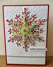 Felicity's Craft Corner: Snowflake Cards