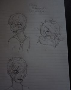 So...trying my hand at anime style. THIS is Nikita in anime style. Don't make fun, please... but my personal favorite is him in the coat! XD The bottom one is him crying (yes, don't judge. I love how he gets so addicted to music that he'll cry from time to time. That shows true courage to not be afraid to let emotion out.), the right hand one is him in winter in a heavy coat.... freezing as we all will be.... and the top one is just him smiling. :) Thank you for your time.