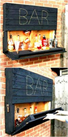 Ideas of Pallet Wood Creations And Projects 50 + Moderne Ideen für Pa. - Ideas of Pallet Wood Creations And Projects 50 + Moderne Ideen für Pa…, - # Wooden Pallet Projects, Diy Pallet Furniture, Bar Furniture, Wooden Pallets, Wooden Diy, Pallet Wood, Pallet Ideas, Wood Wood, Pallet Bar