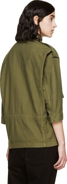 NLST Green Oversized M65 Jacket