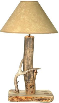 Antler Lamp In Style Metal